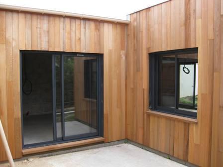 agrandissement de maison en ossature bois