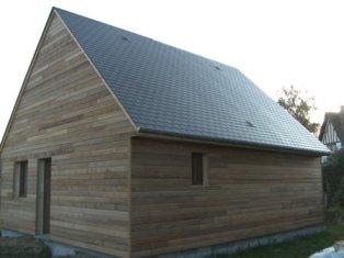 constructeur de maison en bois en Normandie, dans l`Eure 27 et la seine maritime 76