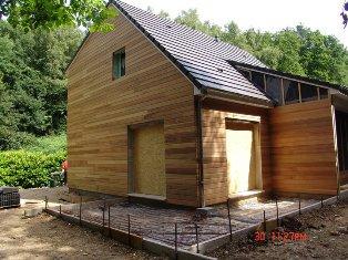 construisez votre maison en bois sur mesure avec nos artisans en Normandie