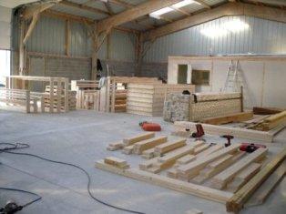 atelier de construction d une ossature bois