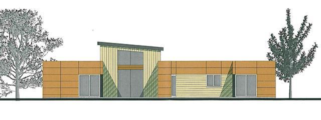 plan d architecte d une maison en bois