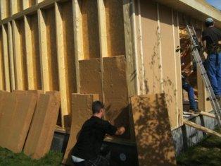 isolation écologique en laine de bois de nos maison bois